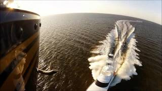 Spencer Yachts boat shoot with Coastal Helicopters, Outer Banks NC