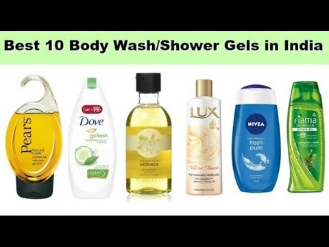 Best 10 Body Wash/Shower Gels in India with price 2018