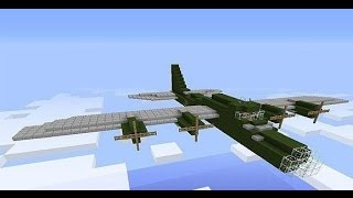 Как сделать работающий самолет-камикадзе [Minecraft механизмы](Делаем крутой и разрушительный самолет-камикадзе, благодаря которому можно легко снести вражескую построй..., 2016-01-25T14:33:01.000Z)
