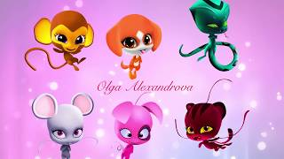 Miraculous  Ladybug Speededit The All best new kwami