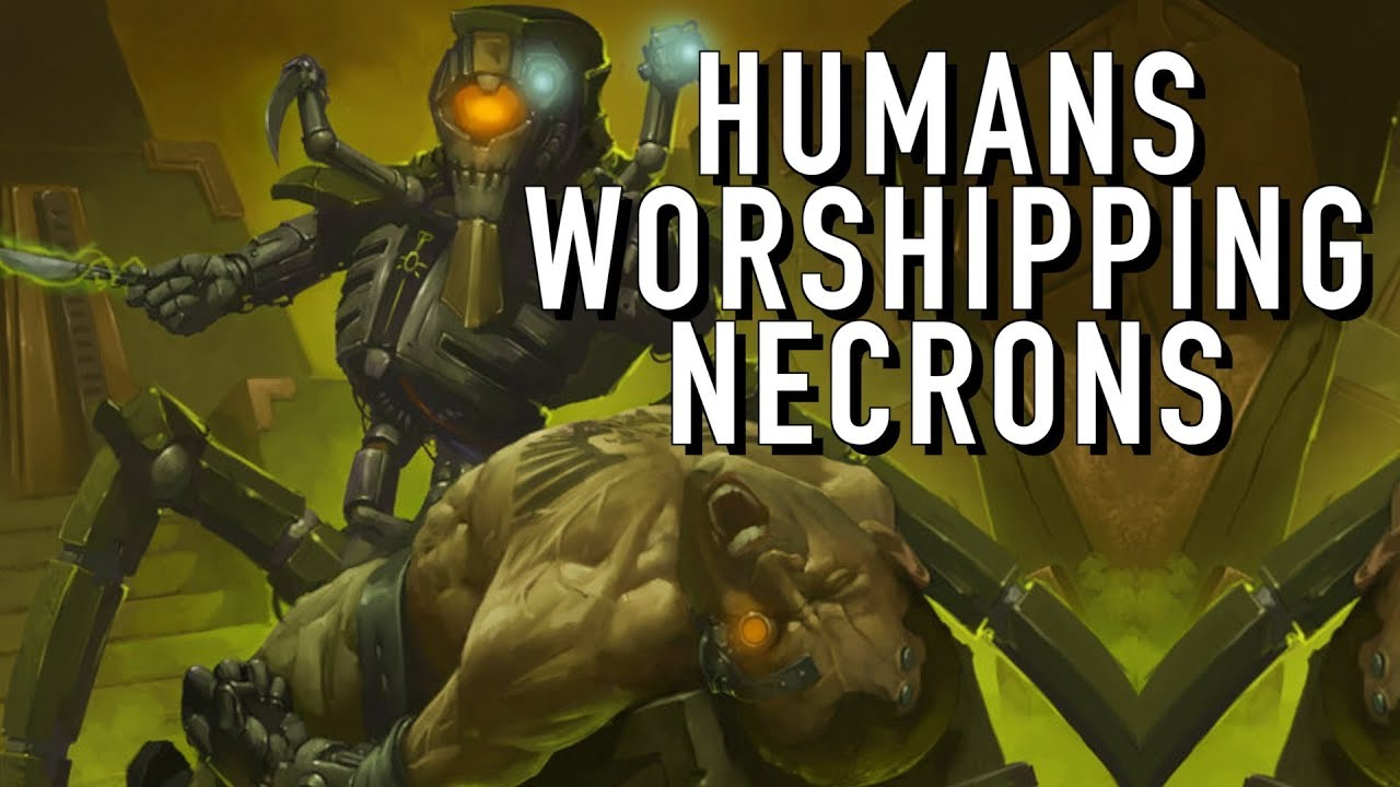 Humans That Worship Necrons And Ctan In Warhammer 40K