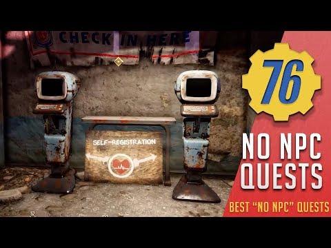NO NPC? NO PROBLEM - Best fallout 4 quests with no NPCs | Fallout 76 thumbnail