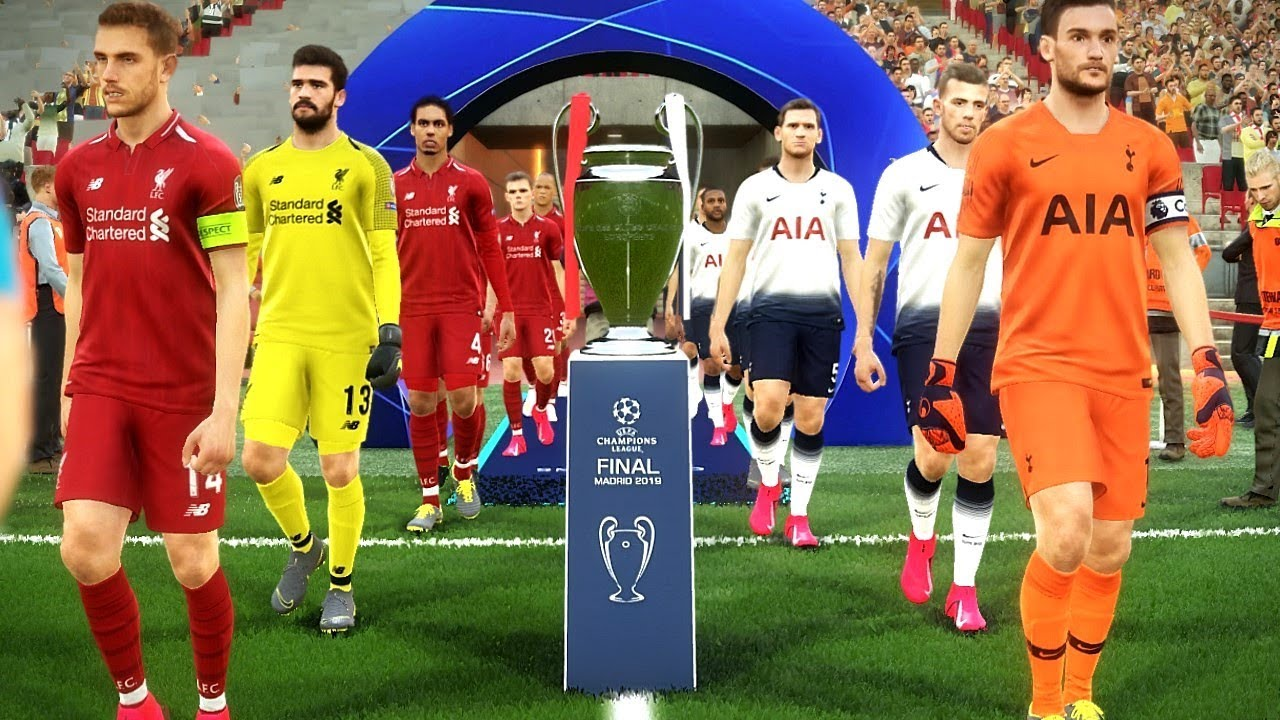 Liverpool Vs Tottenham Uefa Champions League Final 2019 Gameplay Youtube