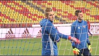 Сюжет ТСН24: Молодежные сборные России и Македонии сыграют в Туле