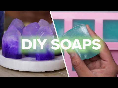 9 Mesmerizing Soaps You Can Make At Home