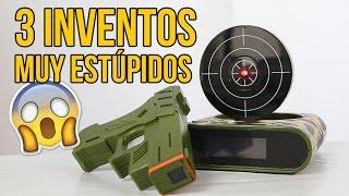3 Estúpidos inventos... ¡QUE FUNCIONAN! - Visto en Internet