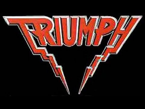 Triumph - Rocky Mountain Way (Joe Walsh cover) Lyrics on screen