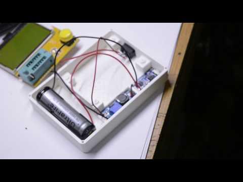 Modificacion de ESR meter M328 modelo viejo  y presentacion de la caja