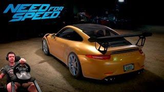 Дрифт на Porsche 911 Carrera S (991) Need For Speed 2016