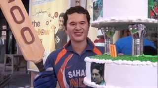 Sachin Tendulkar 100th 100 Celebration - WAX STATUE, Sarabha Nagar, Ludhiana