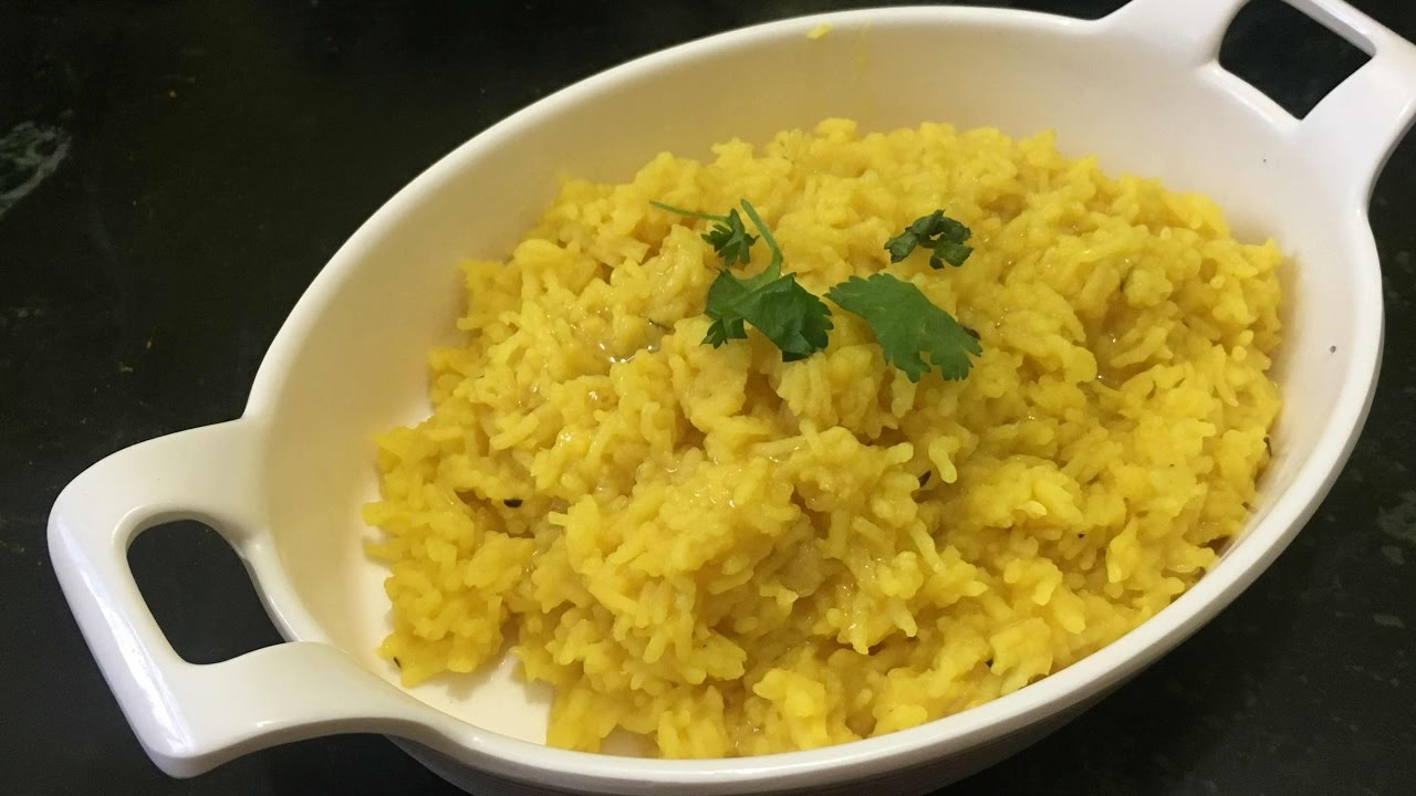 Moong Dal Khichdi- simple khichdi recipe - YouTube