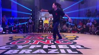 Red Bull BC One Cypher Brazil 2018 | Semifinal: Branco vs. Bart