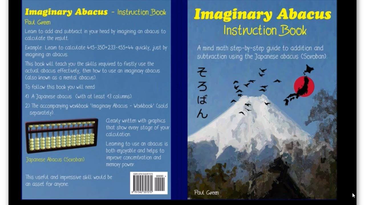 BOOK: Imaginary Abacus - Instruction book. - YouTube
