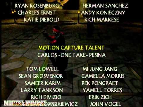 Mortal Kombat Deadly Alliance  Playstation 2 & Xbox & GameCube  Credits