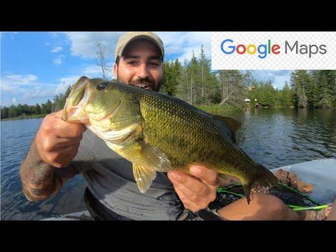 Northern Ontario - Google  MAPS Fishing