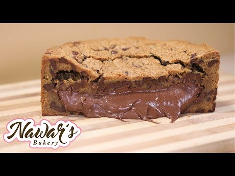 Chocolate Chip Cookie Cake Recipe | ASMR