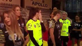"MAKING OF: Echipa de handbal feminin #CSMB va ureaza ""La multi ani!"""
