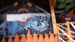 Ghost Train (Regter)off/onride kermis Westerpark Amsterdam 2017