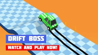 Drift Boss · Game · Gameplay