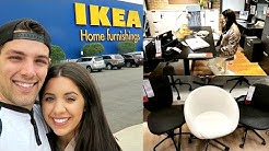IKEA! SHOP WITH ME! 2017! EPISODE 3! |DESKS, SHELVING, STORAGE, OFFICE SPACES|