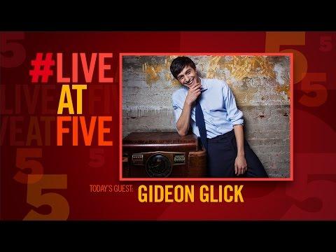 Broadway.com #LiveatFive with Gideon Glick