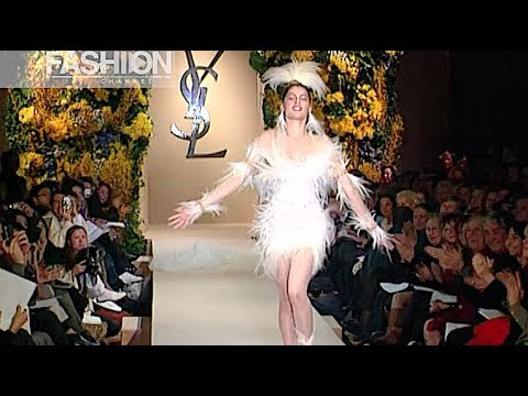 YVES SAINT LAURENT Haute Couture Spring Summer 2000 Paris - Fashion Channel