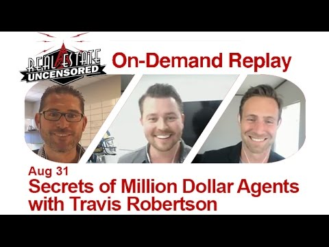Real Estate Agent Marketing: Success Psychology vs. Success Methodology  w/Travis Robertson