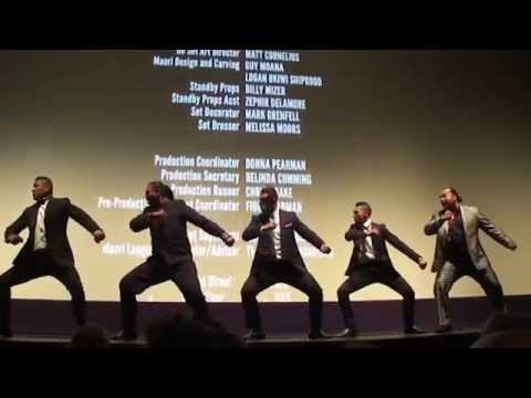Maori haka tribal Dance  The Dead Lands  Q&A  Toronto Film Fest, Ryerson Theatre 942014
