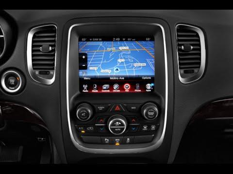 2014 2017 Dodge Durango Factory Gps Navigation Radio