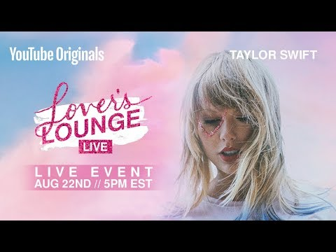 Taylor Swift shares an inspirational message from her teenage diary at her 'Lover' album launch