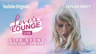 Livestream: Taylor Swift presenteert Youtube-event voor nieuwe cd Lover