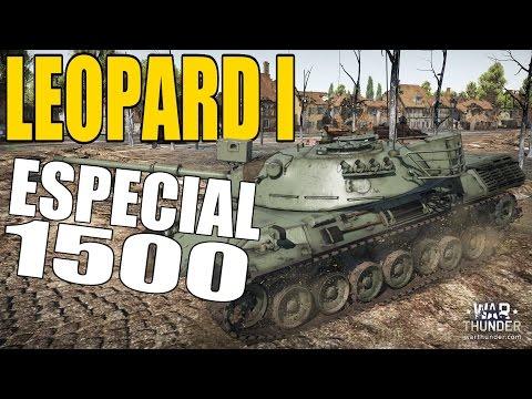 War Thunder | REALISTA | « LEOPARD I: ESPECIAL 1500 » | Gameplay en Español