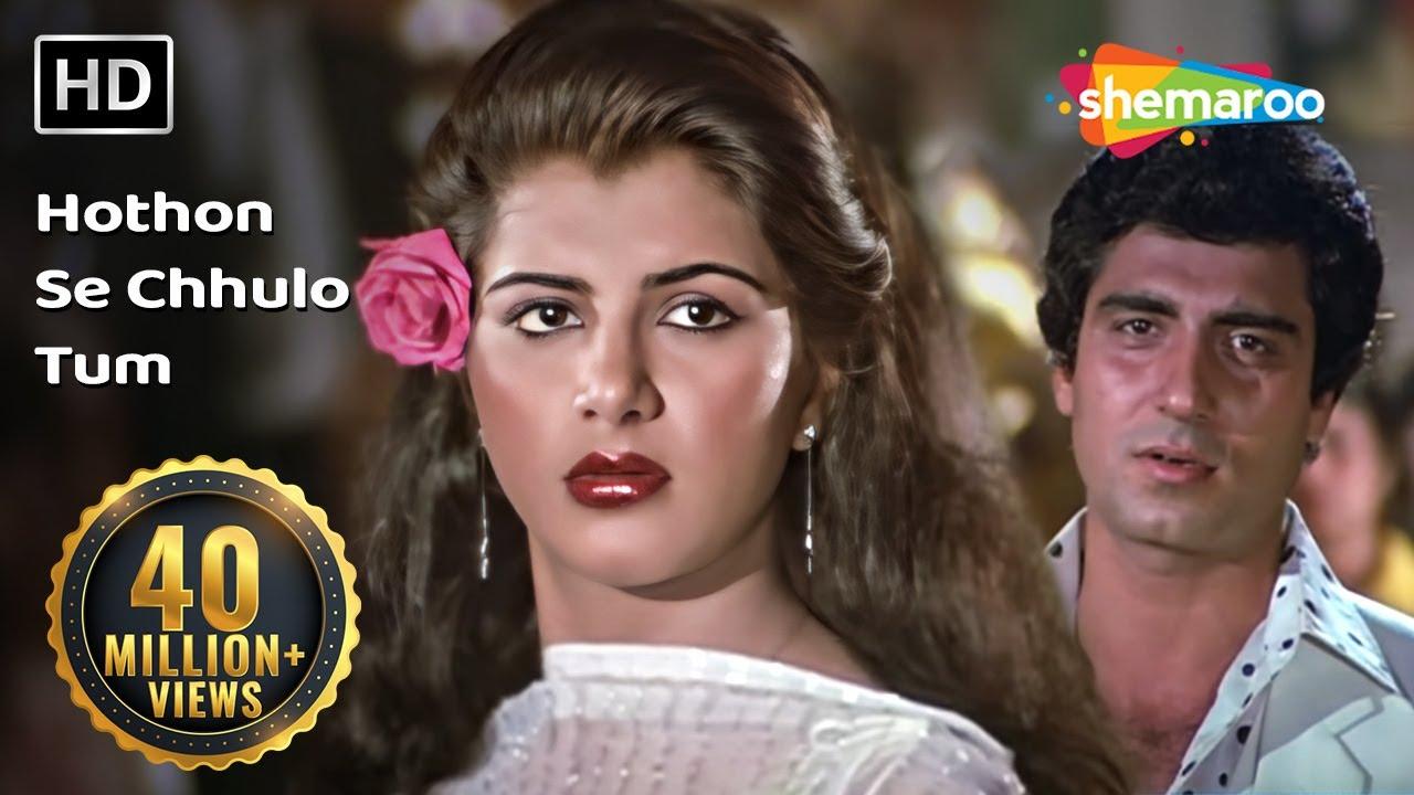 Download Hothon Se Chhulo Tum | Prem Geet Songs | Raj Babbar | Anita Raj | Jagjit Singh | Ghazal | Filmigaane