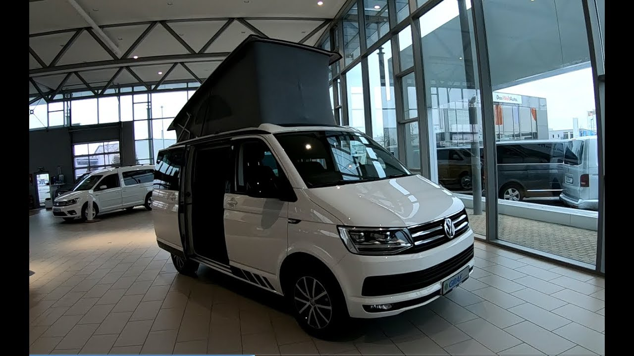 volkswagen vw t6 california beach edition walkaround. Black Bedroom Furniture Sets. Home Design Ideas