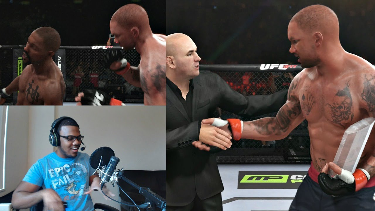 Download EA Sports UFC PS4 Career Mode Gameplay FACECAM - The Ultimate Fighter Finale!! Ep. 6