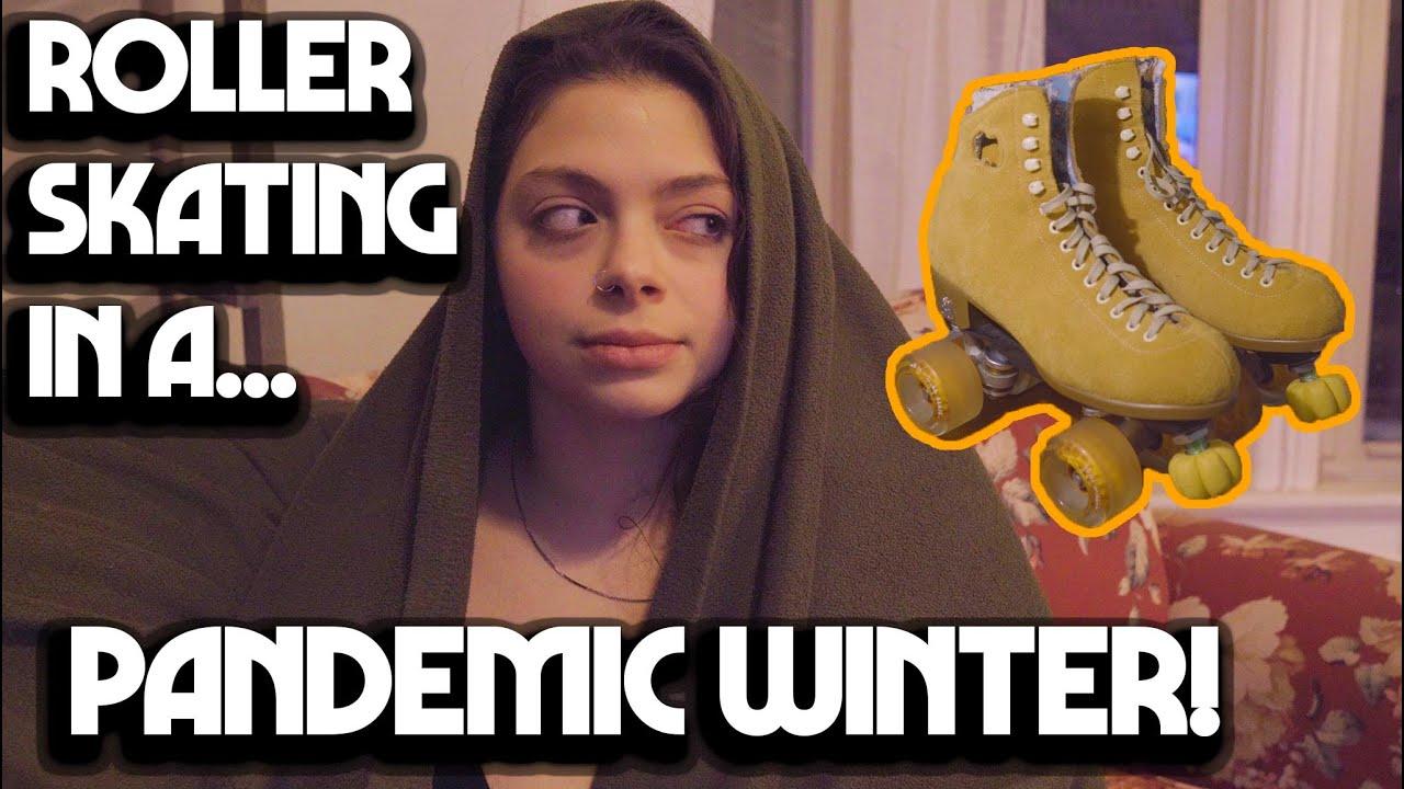 Winter Night Roller Skating