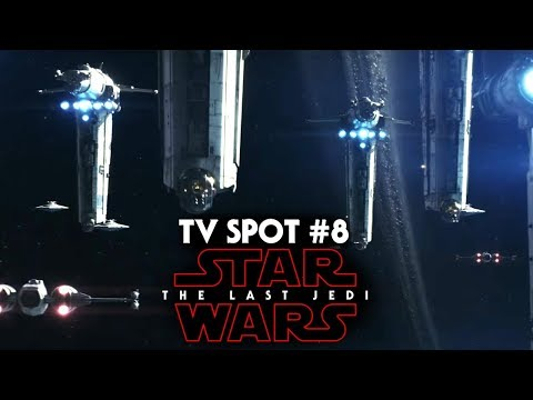 Star Wars The Last Jedi Heroes Trailer NEW Footage Revealed! (TV Spot #8)
