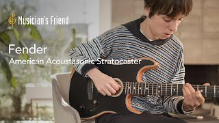 Fender American Acoustasonic Stratocaster Demo with Meg Duffy - All Playing, No Talking