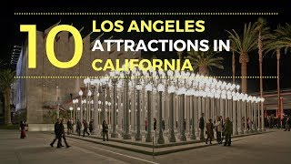 Los Angeles Attractions in California | Los Angeles Points of Interest  - Tourist Junction