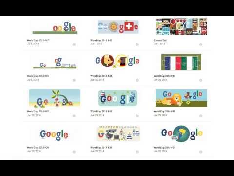 All Google Doodles : WORLD CUP 2014 BRAZIL 2014