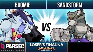 Boomie vs Sandstorm - Loser's Final - Parsec Invitational 2021 - NA 1v1