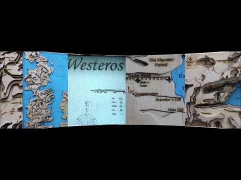 Got Karte Westeros.Game Of Thrones Westeros 3d Karte