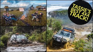 MUD-FEST! Insane 50km of bog holes and winching - Tasmania's best 4x4 track