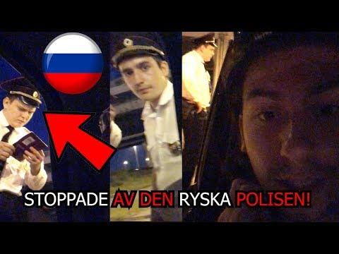 Vi blir STOPPADE av den ryska POLISEN│RYSSLAND DEL 1