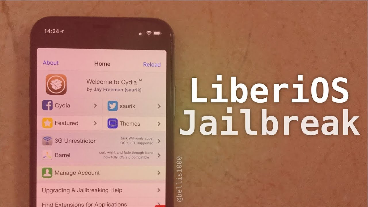 LiberiOS - Jailbreak & Install Cydia on iOS 11 (Root & SSH Access Only, No  Tweaks)