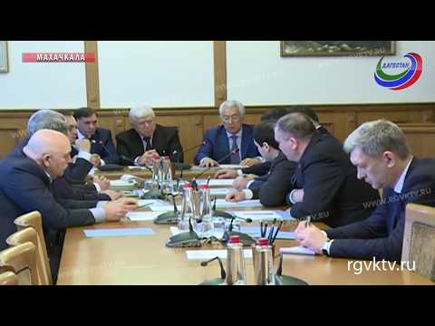 Владимир Васильев представил кандидата на должность председателя правительства Дагестана
