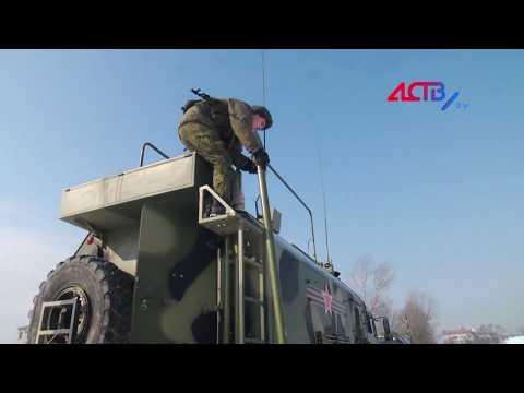 Смотреть Сахалинские военнослужащие-связисты сегодня боролись за путевку в Хабаровск онлайн