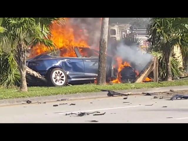 Image result for Are Teslas Death Traps? Failing Brakes and Violent Fires Spark Major Fears