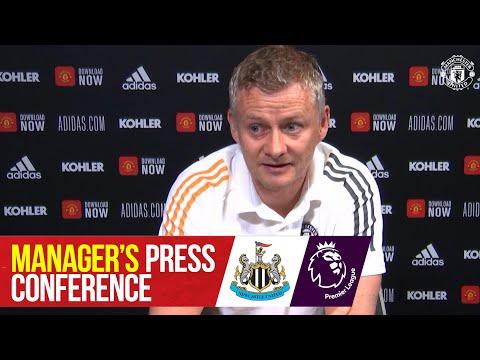 Manager's Press Conference | Newcastle v Manchester United | Ole Gunnar Solskjaer