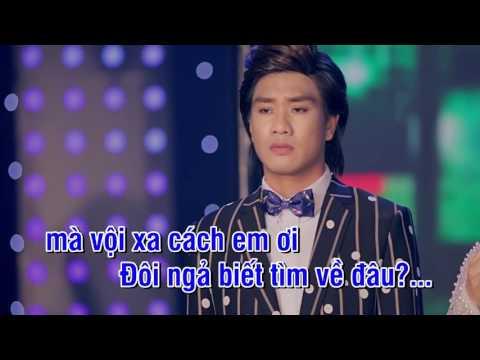 Karaoke - Đôi ngã chia ly - Dương Sang & Yến Ngọc